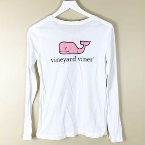 Vineyard Vines Pima Cotton Whale Long Sleeve